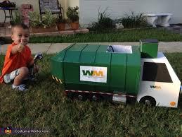 Truck Halloween Costume Garbage Man Truck Costume Boys Photo 6 10