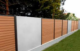 Garden Fence Types - garden fence with bars wpc boreale ocewood