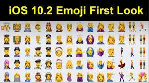 unicode 9 emoji updates ios 10 2 emoji first look ios 10 2 has so many new emojis you u0027ve