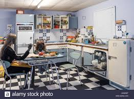 1960s kitchen stock photos u0026 1960s kitchen stock images alamy