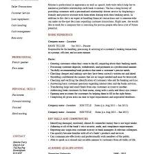 Sample Of Banking Resume by Bank Resume Template Bank Teller Resume Example Bank Teller