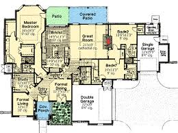 Spacious 3 Bedroom House Plans Spacious One Level House Plan With Bonus 48346fm Architectural