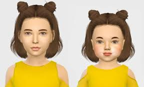 sims 4 kids hair leahlillith layla hair kids toddlers at simiracle sims 4 updates