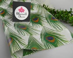 printed tissue paper etsy