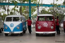 volkswagen van original interior siam vw festival 2014 bangkok thailand classiccult