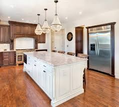 white kitchen countertops with brown cabinets 75 beautiful white kitchen with brown cabinets pictures