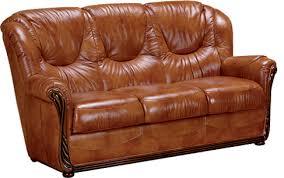 canapé cuir et bois rustique salon rustique cuir et bois maison design hosnya com