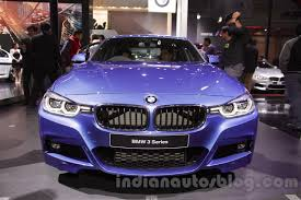 bmw 3 series reviews specs 2016 bmw 3 series facelift front indian autos blog