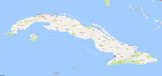 Cuban Map Images Cuba