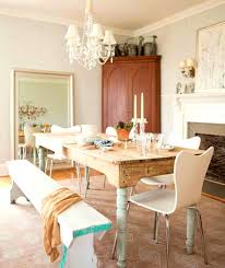 apartments likable country dining room chandelier whte wood