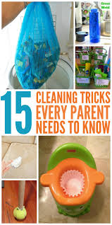 15 housecleaning tips that will amaze all parents