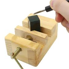Catok Kayu diy alat mini datar tang catok penjepit meja kerja kayu bangku wakil