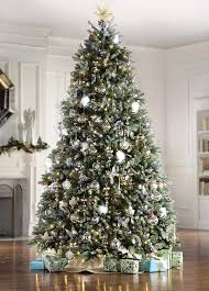dunhill fir pre lit artificial tree 9 ft home
