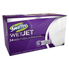 swiffer wetjet absorbent pads refill with mr clean 10 ct