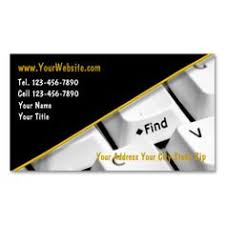 It Technician Business Card It Consultant Business Cards Click Colors And Template