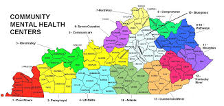 kentucky map map of kentucky by cmhc region karp inc