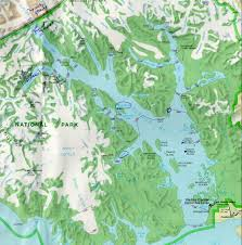 Ketchikan Alaska Map by Glacier Bay Alaska