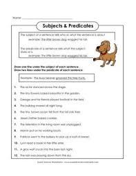 subjects u0026 predicates super teacher worksheets fliphtml5