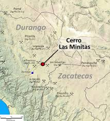 Map Of Durango Mexico by Southern Silver Exploration Corp Projects Cerro Las Minitas
