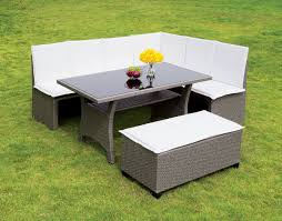White Patio Dining Set - 3 pc patio dining set u2013 hobo u0027s warehouse