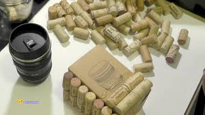 Upcycle Crafts - wine cork container gift idea upcycle crafts youtube