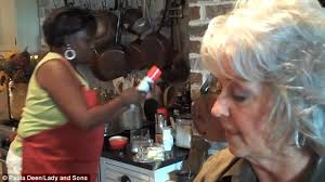 is paula deens hairstyle for thin hair paula deen s longtime cook was paid 10 an hour and was ordered to