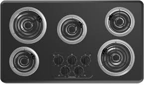 Electric Cooktop With Downdraft Ventilation 36 Inch Cooktops 36 U0027 Cooktops