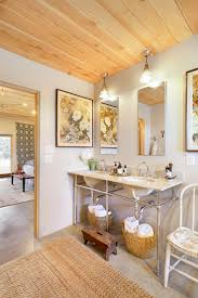 french country bathroom photos hgtv master with exposed plumbing