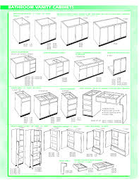 Ada Kitchen Cabinets by Bathroom Vanity Dimensions Ideas With Ada Diions Picture