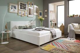design polsterbett design polsterbett weiß 100 x 200 cm kian mit bettkasten
