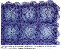free pattern granny square afghan granny square crochet a floral granny square afghan