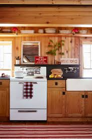 Rustic Cabin Kitchen Cabinets 193 Best Log Cabin To Go Images On Pinterest Vintage Campers