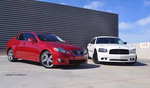 lexus cars 2009 2009 dodge charger se and 2009 lexus is250 comparison rnr