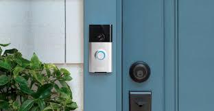 home designer pro hardware lock ring wi fi smart video doorbell silver 88rg000fc100 best buy