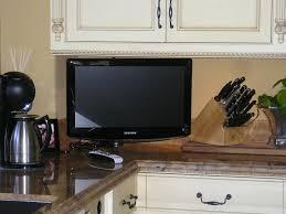 tv in kitchen ideas kitchen kitchen tv ideas modern refrigerator ideas