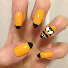 review demo barrym nail art pen review easy honey bee nail cute