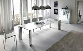 dining room stunning modern minimalist industrial dining set