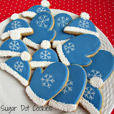 order christmas winter sugar cookies custom decorated