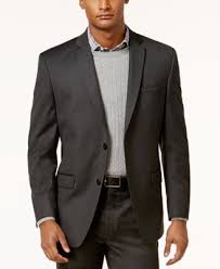 marc york marc york by andrew marc s fit solid charcoal suit