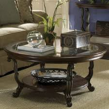 coffee tables attractive modern round coffee table shelving