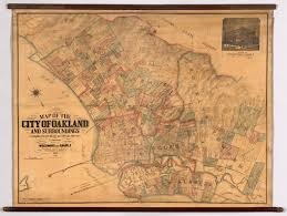 map of oakland map of the city of oakland and surroundings david rumsey