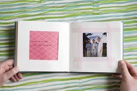 wedding scrapbooks albums jen dan wedding scrapbook polaroid album