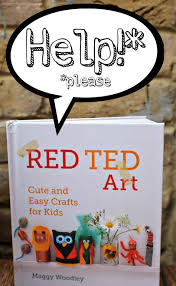 red ted art the book craft books promotion and craft
