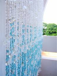 White And Blue Curtains White Blue Leaf Bead Curtain Memories Of A Butterfly Buy Beaded