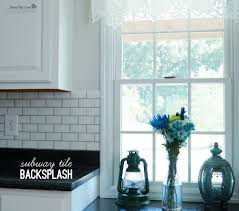 DIY Subway Tile Backsplash - Tile backsplash diy