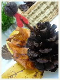 thanksgiving pinecone turkey easy thanksgiving turkey craft that kids can do too pine cone