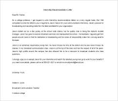 ideas of recommendation letter for students from professor in