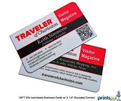 Business Cards Rounded Corners Silk Business Cards Online Printing Services Printspal