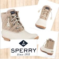 womens sperry duck boots size 9 42 sperry shoes sperry saltwater quilted duck boot