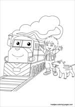 Go Diego Go Coloring Pages Go Diego Go Coloring Pages